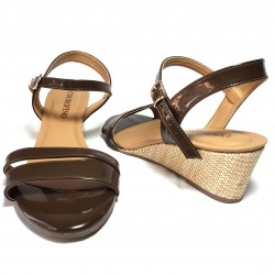 Zapato plataforma con tacón...