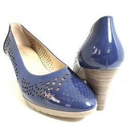 Zapatos de tacón piel...