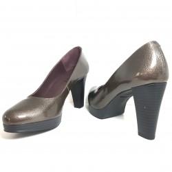 Zapatos de tacón ancho en...
